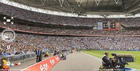 Ảnh panorama sân vận động Wembley lớn nhất thế giới