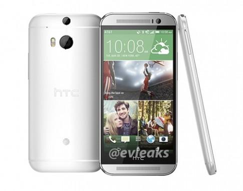 Ảnh rõ nét đầu tiên về HTC One thế hệ hai