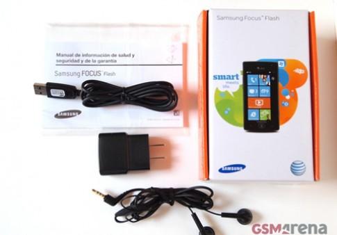 Ảnh Samsung Focus Flash chạy WP 7.5