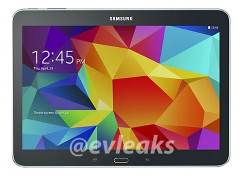 Ảnh Samsung Galaxy Tab 4 10.1 giá thấp xuất hiện