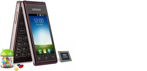 Ảnh Samsung Hennessy màn hình gập chạy Android