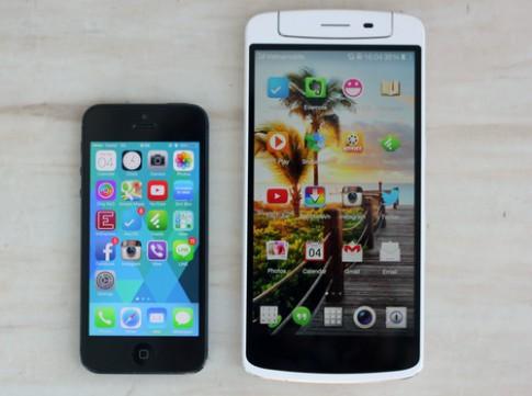 Ảnh smartphone tích hợp camera xoay Oppo N1