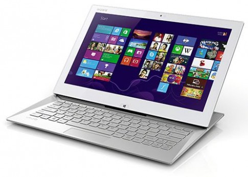 Ảnh Sony Vaio Duo 13 - tablet bàn phím trượt
