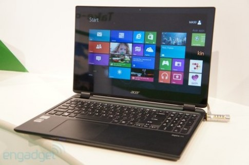 Ảnh thực tế Acer Aspire M3 Touch