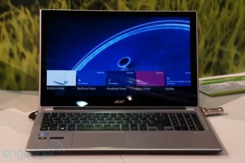 Ảnh thực tế Acer Aspire V5 Touch
