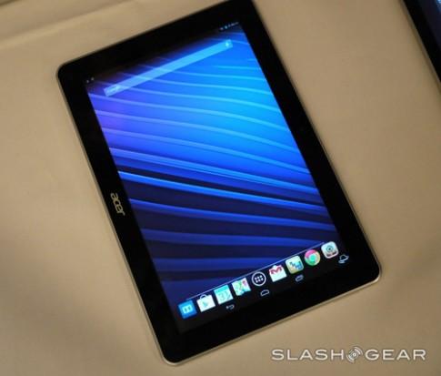 Ảnh thực tế Acer Iconia A3, máy tính bảng 10 inch giá rẻ