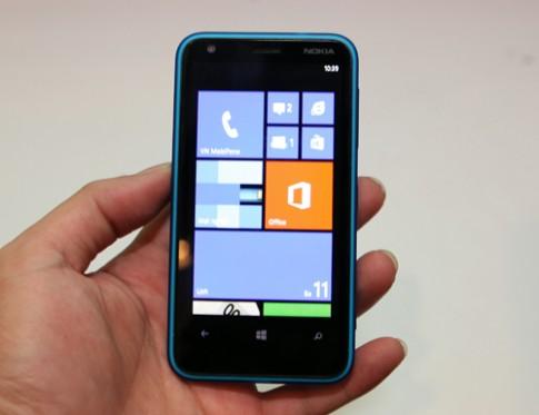 Ảnh thực tế của Nokia Lumia 620 tại TP HCM