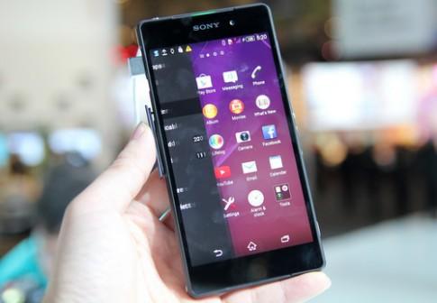 Ảnh thực tế của Sony Xperia Z2