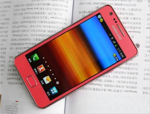 Ảnh thực tế Galaxy S II màu hồng