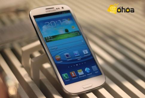 Ảnh thực tế Galaxy S III