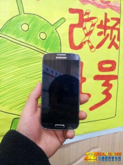 Ảnh thực tế Galaxy S IV xuất hiện ở Trung Quốc