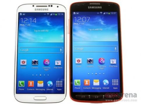 Ảnh thực tế Galaxy S4 Active chống nước và bụi