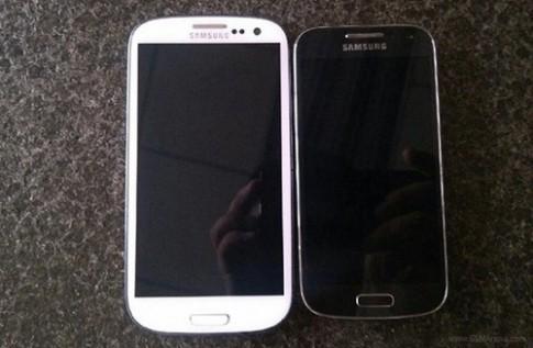 Ảnh thực tế Galaxy S4 Mini màn hình 4,3 inch