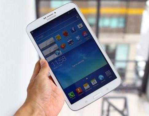 Ảnh thực tế Galaxy Tab 3 8.0 ở Việt Nam