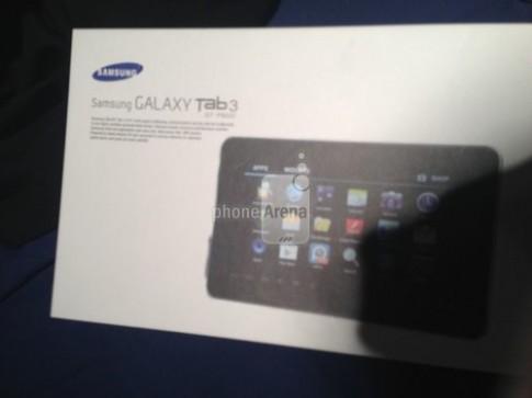 Ảnh thực tế Galaxy Tab 3 xuất hiện