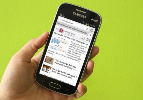 Ảnh thực tế Galaxy Trend Lite, smartphone giá chưa tới 3 triệu