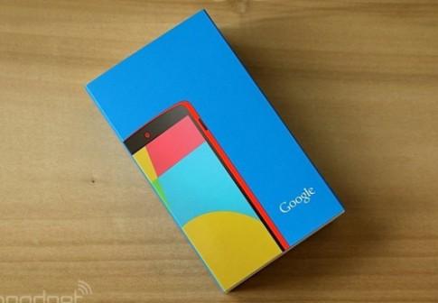 Ảnh thực tế Google Nexus 5 màu đỏ