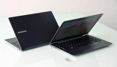 Ảnh thực tế hai laptop đầu tiên chạy Windows 8 của Samsung