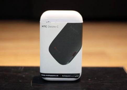 Anh thuc te HTC Desire C tai TP HCM