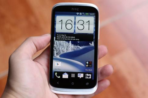 Ảnh thực tế HTC Desire X sắp bán ở Việt Nam