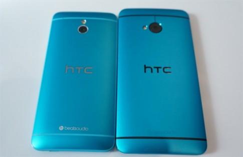 Ảnh thực tế HTC One Mini xanh dương