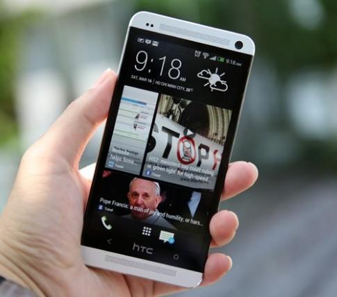 Ảnh thực tế HTC One tại TP HCM