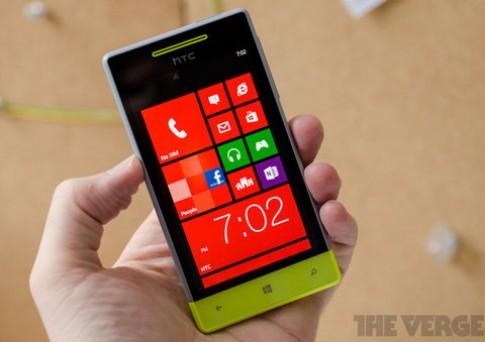 Ảnh thực tế HTC Windows Phone 8S