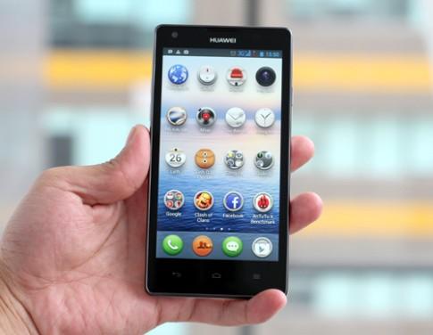 Ảnh thực tế Huawei Ascend G700
