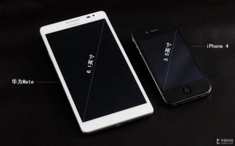 Ảnh thực tế Huawei Ascend Mate màn hình 6,1 inch