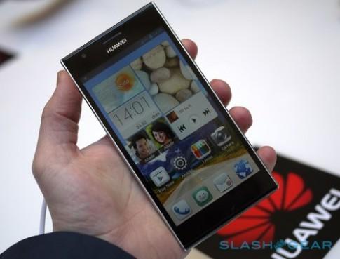 Ảnh thực tế Huawei Ascend P2