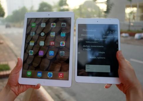 Ảnh thực tế iPad Air tại Việt Nam