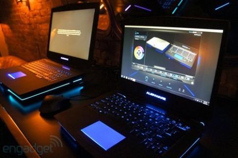 Ảnh thực tế laptop Alienware 14