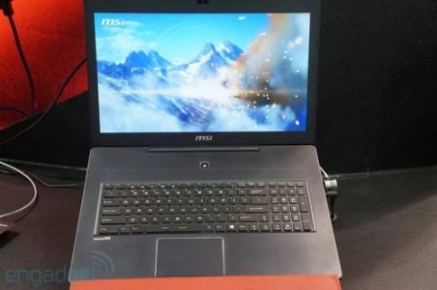 Ảnh thực tế laptop chơi game MSI GS70
