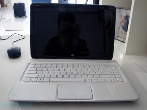 Ảnh thực tế laptop HP Pavilion 2012