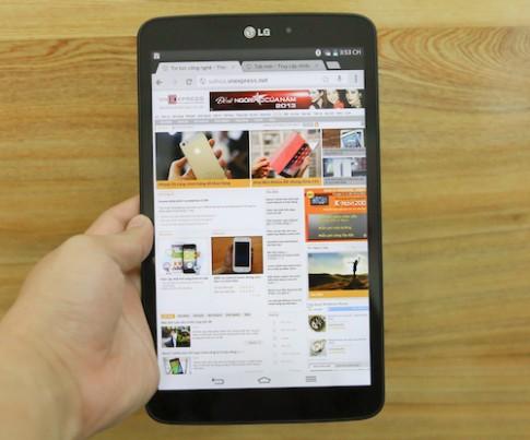 Ảnh thực tế LG G Pad 8.3 tại Việt Nam