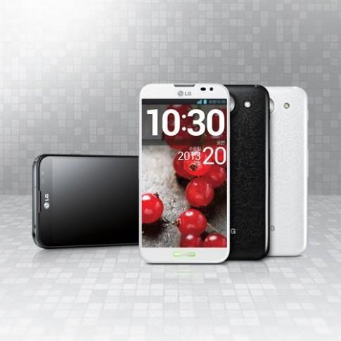 Ảnh thực tế LG Optimus G Pro màn hình Full HD