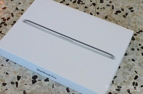 Ảnh thực tế MacBook Pro Retina