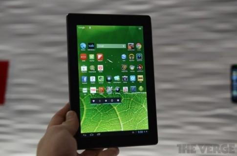 Ảnh thực tế máy tính bảng Android của Vizio