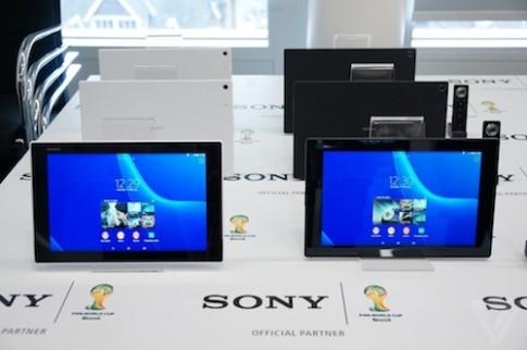 Ảnh thực tế máy tính bảng Sony Xperia Z2 Tablet