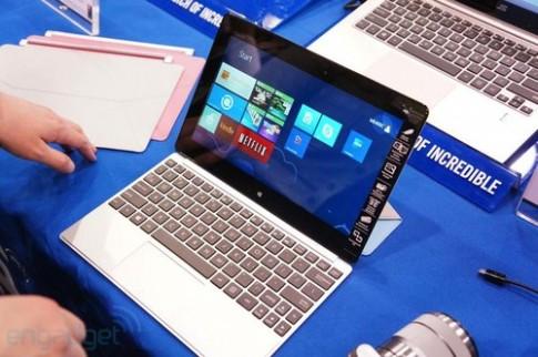 Ảnh thực tế máy tính bảng Windows 8 pin 9,5 tiếng của Asus