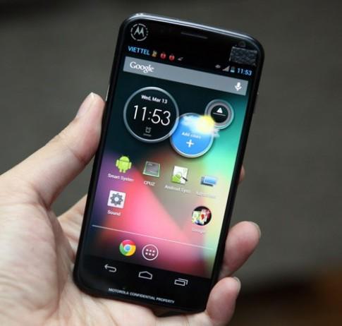 Ảnh thực tế model lạ của Motorola tại TP HCM