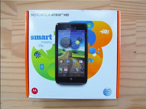 Ảnh thực tế Motorola Atrix HD
