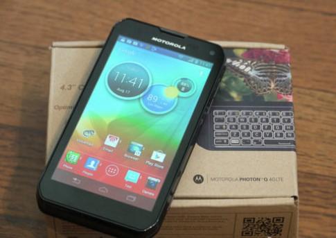 Ảnh thực tế Motorola Photon Q vừa được phát hành
