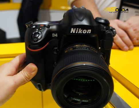 Ảnh thực tế Nikon D4