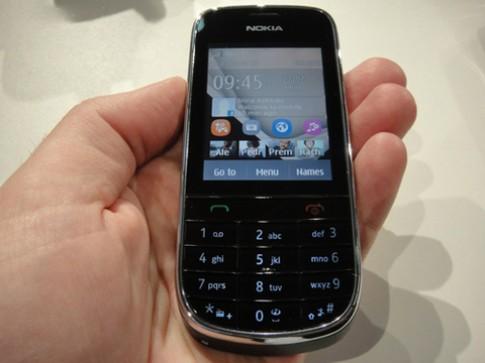 Ảnh thực tế Nokia Asha 202 giá rẻ