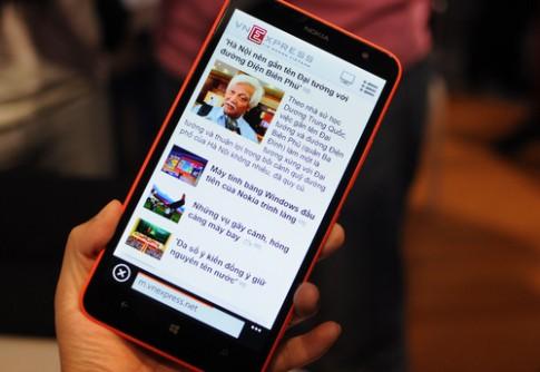 Ảnh thực tế Nokia Lumia 1320