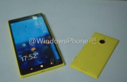 Ảnh thực tế Nokia Lumia 1520 phiên bản mini