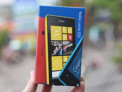 Ảnh thực tế Nokia Lumia 520