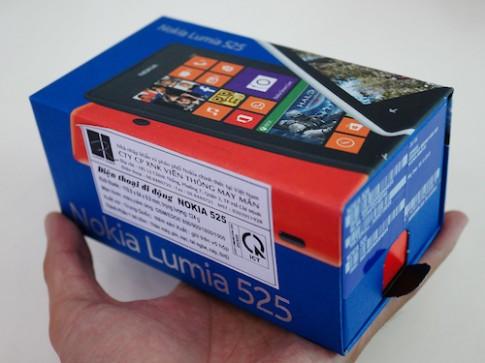 Ảnh thực tế Nokia Lumia 525