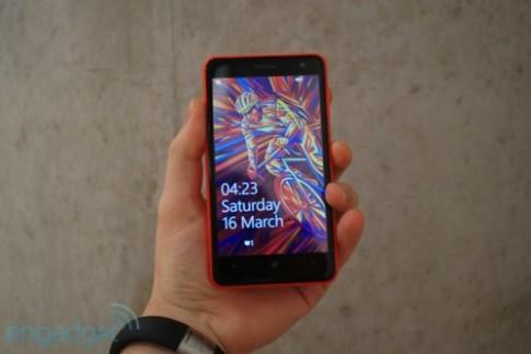Ảnh thực tế Nokia Lumia 625